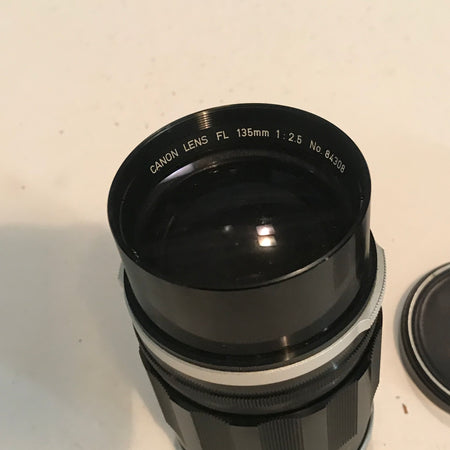 Canon FL 135mm F2.5 Portrait Lens -Clean