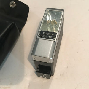 VINTAGE Canon Canolite D Flash Unit