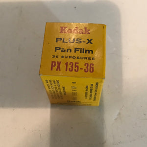 Kodak Plus-X Pan PX 1965 and 66
