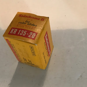 Vintage Kodachrome II Color Slide Film 35mm Kodak K 135-20 EXPIRED 1966