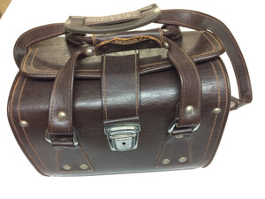 Vintage Leather Camera Bag For Canon Nikon DSLR