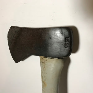 Vintage Woodings Gray Verona Single Bit Axe Head Forest Chopping Woodsman Iron Ax