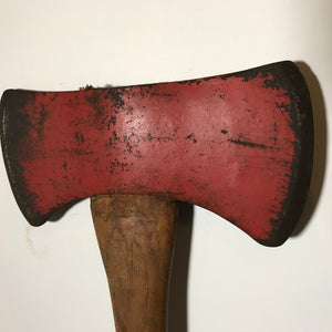 Vintage True Temper Woodslasher large Double Bit axe
