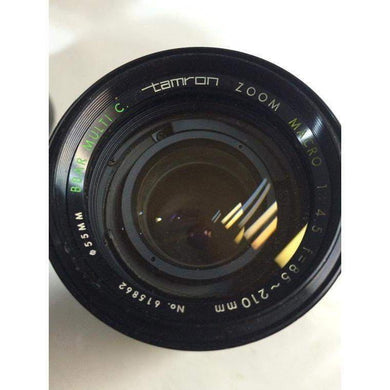 Tamron 85-210 mm f/4.5 Macro Zoom for Pentax Mount from Japan