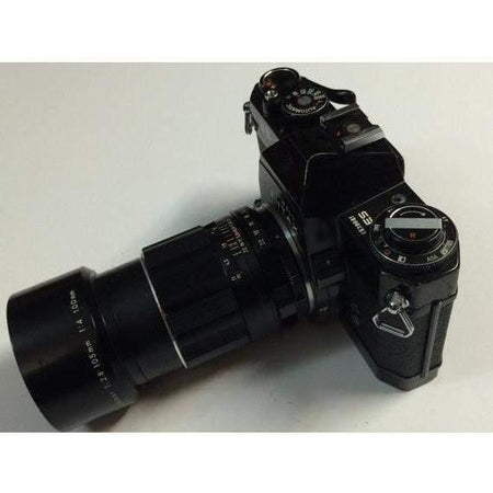 Honeywell Pentax ES 35mm Camera / M42 Mount Asahi Super Multi Takumar 1:2.8/105