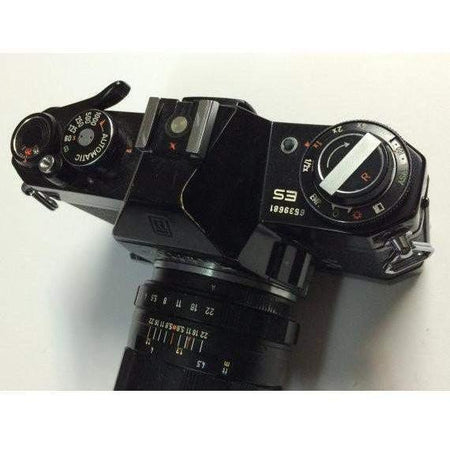 Honeywell Pentax ES 35mm Camera / M42 Mount Asahi Super Takumar 1:2.8/105 - Annzstiques