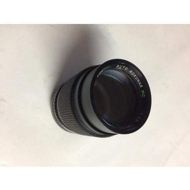 Rokunar MC 1:2.8 135mm Lens For Canon FD mount great shape