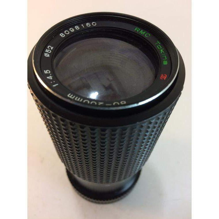 Vintage Tokina RMC 1:4.5 80-200mm Lens For Canon FD mount great shape
