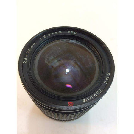 Vintage Tokina RMC 1:4.5 28-70mm Lens For Konica mount great shape