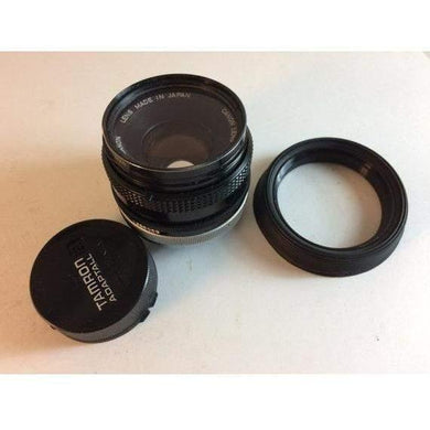 Tamron Adaptall for Canon FD 50mm f/1.8 Fixed Lens with filter 55mm hood