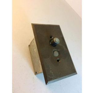 Vintage antique push button light switches steampunk 1915
