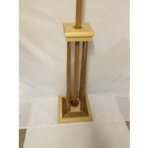 Bishop Crozier And Stand in Solid Pine, Ideal For Consecration. (with Cross) - Annzstiques