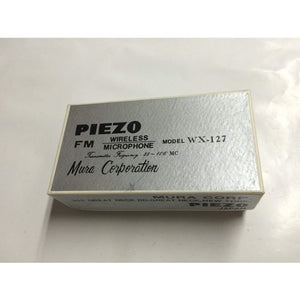 Vintage PIEZO DYNAMIC MICROPHONE wx-127 with Box New in box