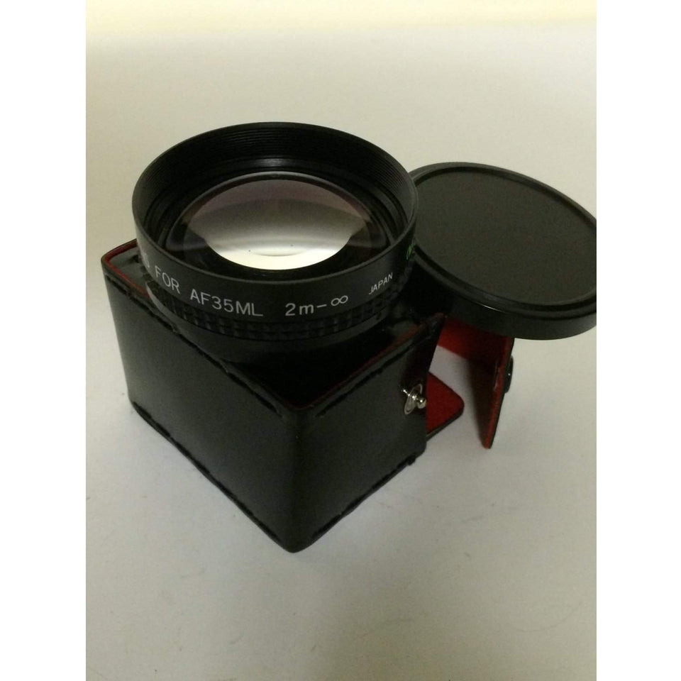 Star-D Aux telephoto Lens for canon super sure shot AF35ML 2m japan (MC)
