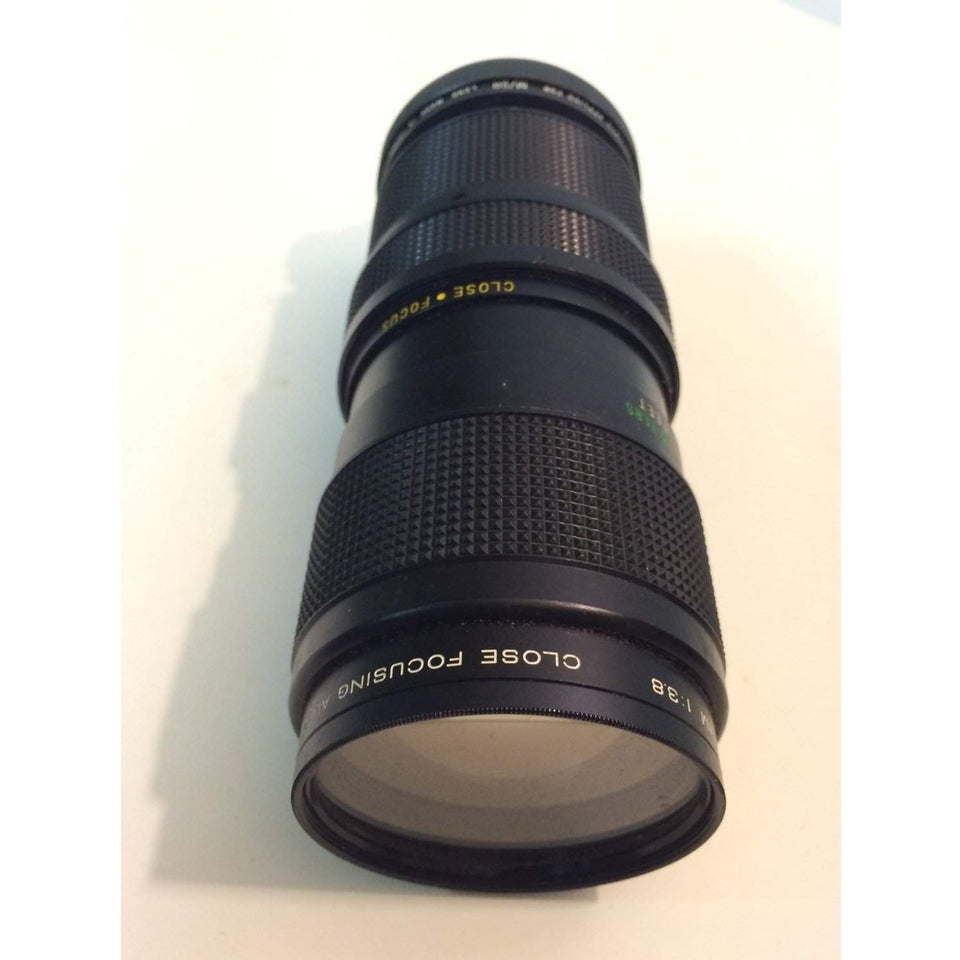 Vivitar 75-205 mm F/3.8 Macro Zoom Lens For Minolta Alpha 58 mm UV-haze