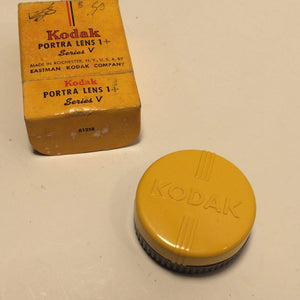Single Vintage Kodak Series V (5) Clear Pictorial Filter - New Old Stock