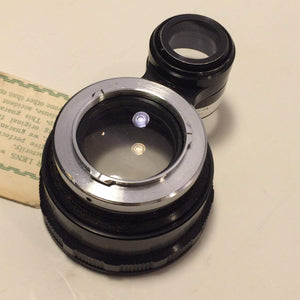 Kaligar Aux Telephoto For Polaroid Colorpack 2  View Finder Nm Cond CASE - Annzstiques