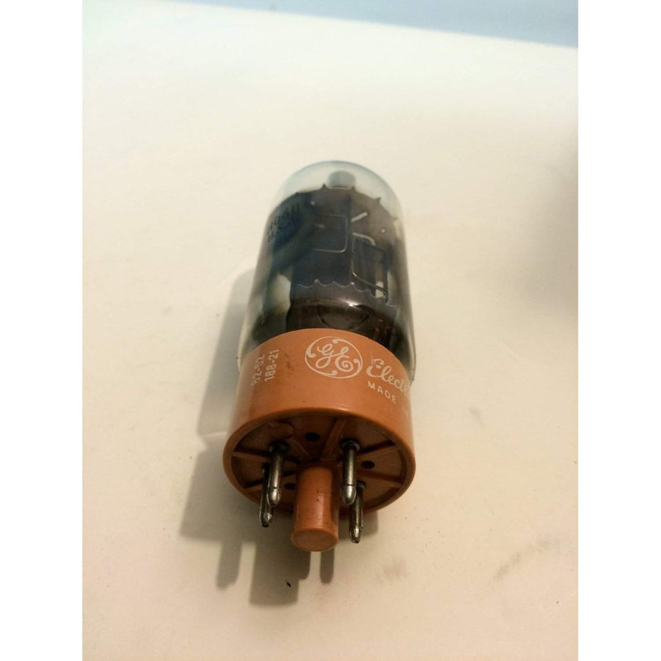 GE USA 8068 Gray Plate 2 Side O Getter Vacuum Tube - Annzstiques