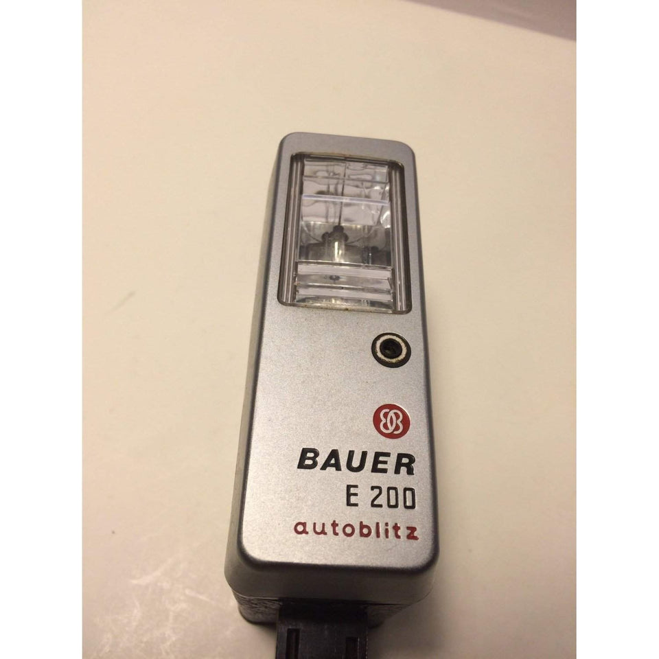 Bauer E 200 Vintage Ultrablitz Autoblitz Flash E200 just flash - Annzstiques