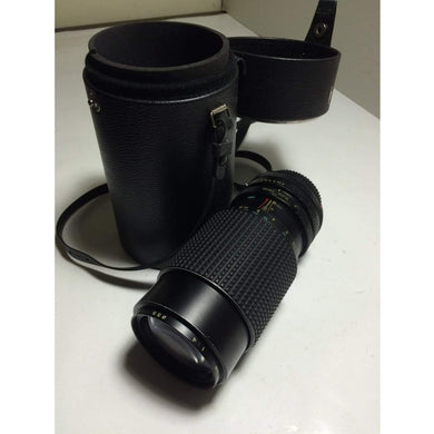 Canon FD mount Tokina RMC 80-200mm f/4.5 TELEPHOTO Zoom Lens. - Annzstiques