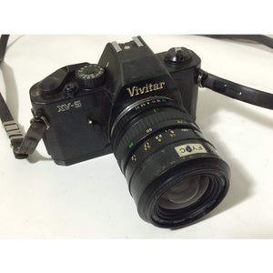 Vivitar XV-5 Camera with 1:3.5-4.6 mm Auto Chinon lens