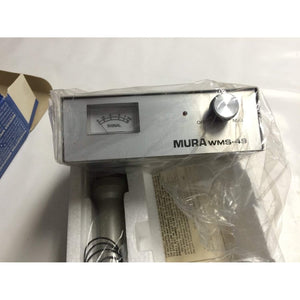 Vintage Mura 49 MHz AM band wireless Mic System new in box model WMS-49