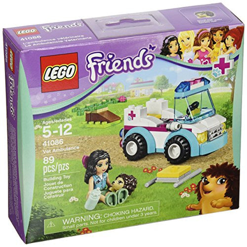 LEGO Friends - La ambulancia veterinaria (41086)