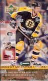 2003-04 Upper Deck Series 1 Hockey Canadian Hobby Box