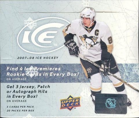 2007-08 Upper Deck Ice Hockey Hobby Box