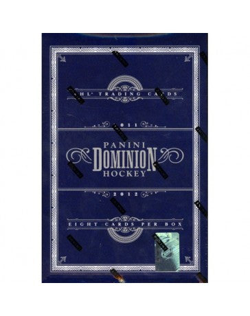 2011-12 Panini Dominion Hockey Hobby Box