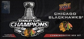 2012-13 UD Stanley Cup Championship Boxed Set ( Chicago Blackhawks)