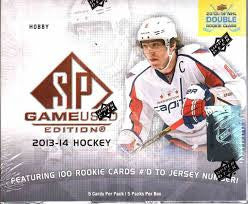 2013-14 SP Game Used Hockey Hobby Box