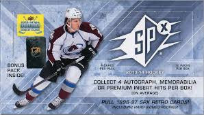 2013-14 SPX Hobby Hockey Box