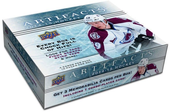 2014-15 Upper Deck Artifacts Hockey Hobby Box