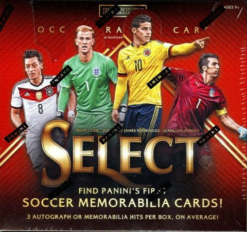 2015-16 Panini Select Soccer Hobby Box