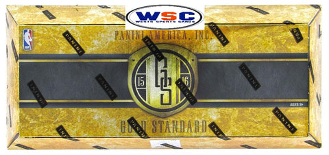 2015-16 Panini Gold Standard Basketball Hobby Box