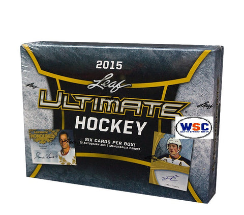 2015-16 Leaf Ultimate Hockey Hobby Box- Call or email to order