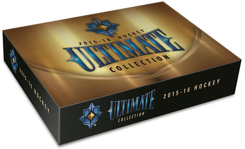 2015-16 UD Ultimate Collection Hobby Hockey Box