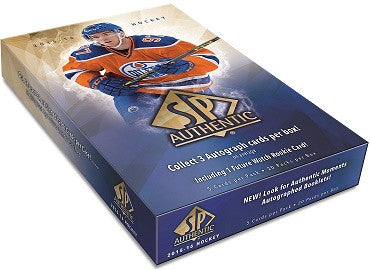 2015-16 SP Authentic Hobby Hockey Box