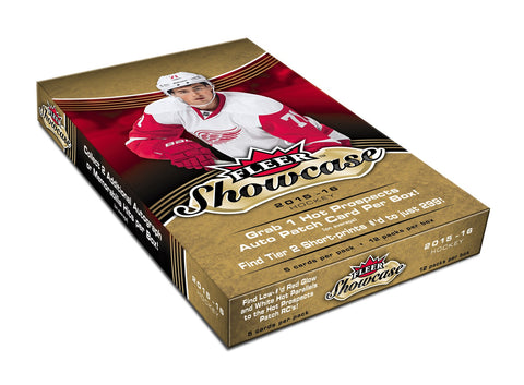 2015-16 UD Fleer Showcase Hobby Hockey Box