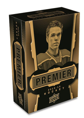 2015-16 UD Premier Collection Hockey Hobby Box