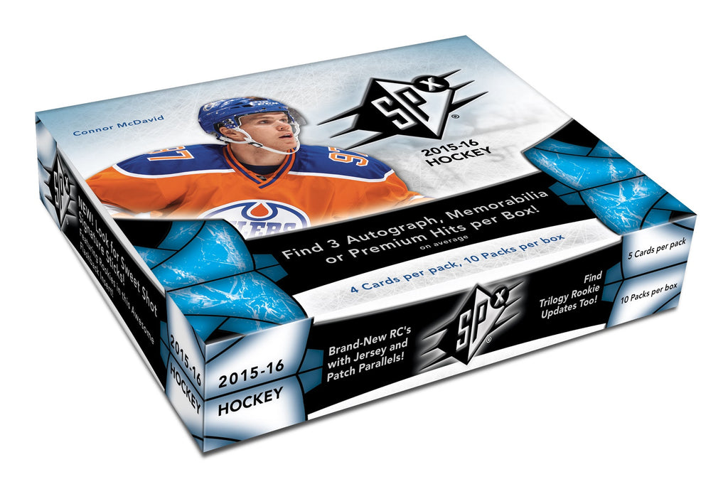 2015-16 SPX Hobby Hockey Box