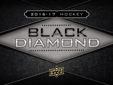 2016-17 UD Black Diamond Hockey Hobby Box