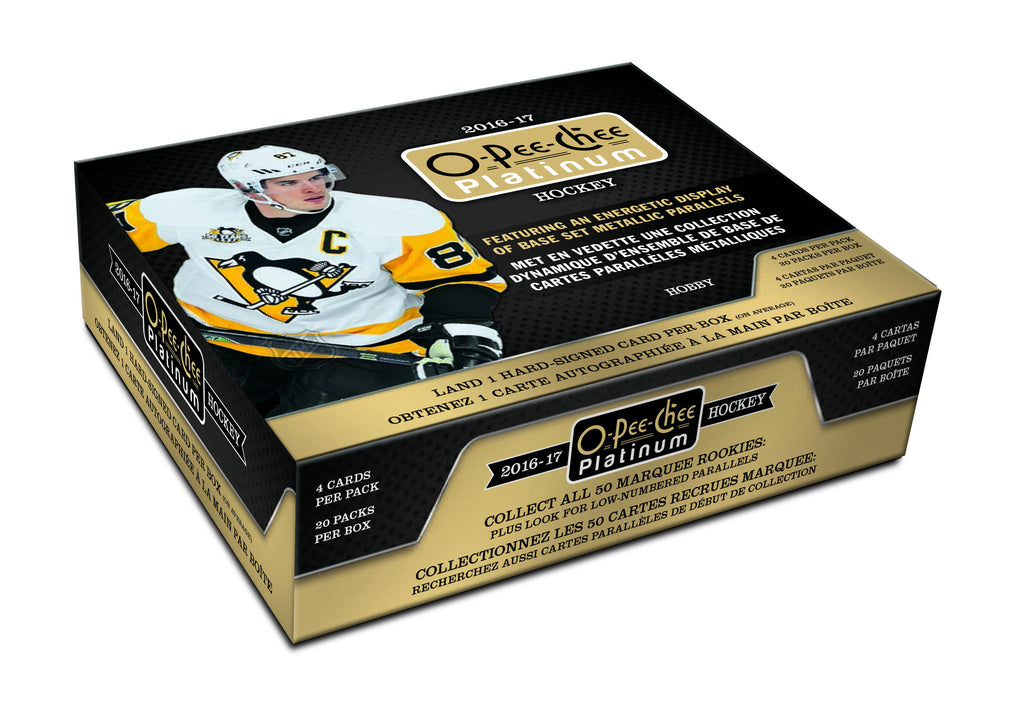 2016-17 O-Pee-Chee Platinum Hockey Hobby Box