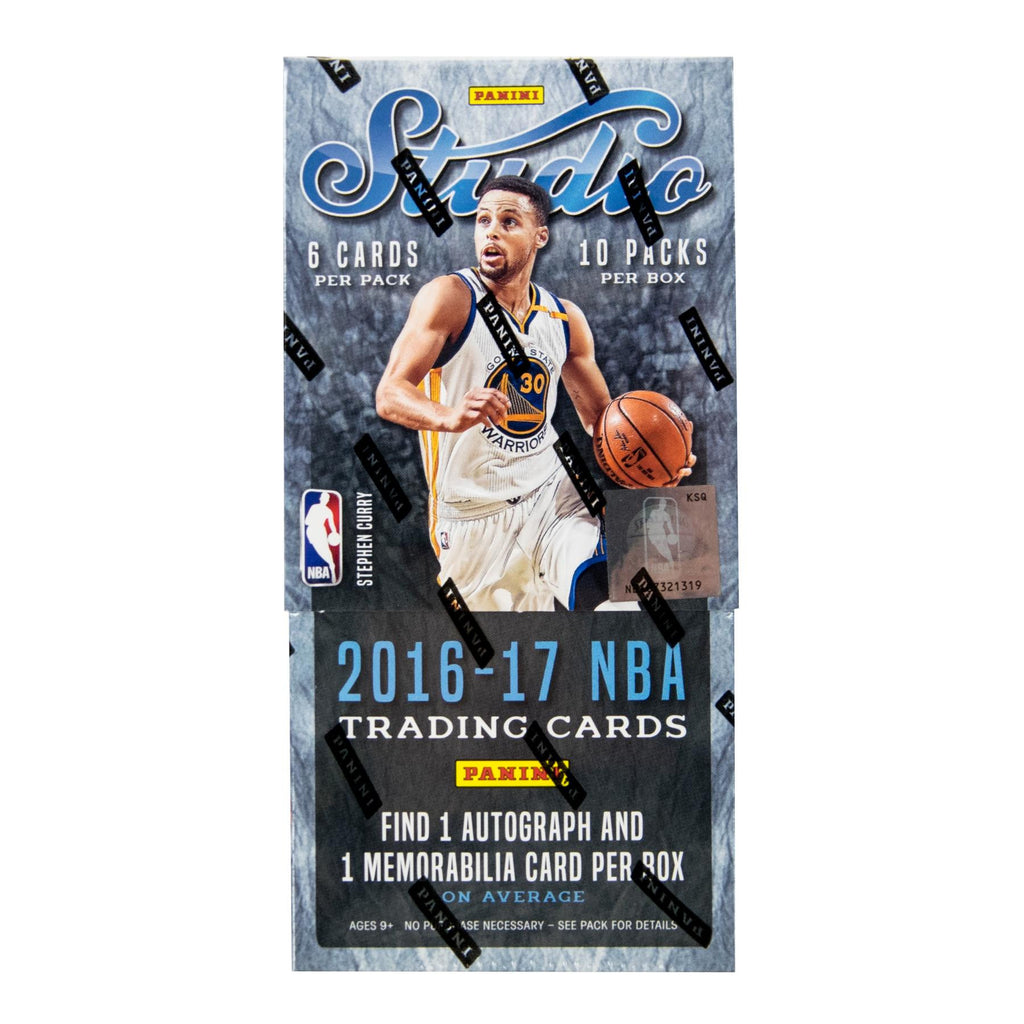 2016-17 Panini Studio Hobby Basketball Box