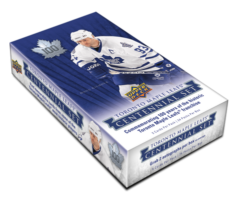 2016-17 Upper Deck Toronto Maple Leafs Centennial Hobby Hockey Box