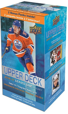 2016-17 Upper Deck Series 1 Blaster Box