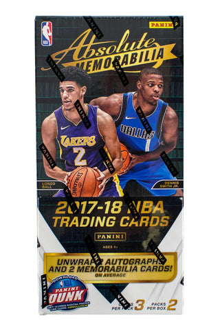 2017-18 Panini Absolute Hobby Basketball Box