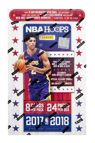 2017-18 Panini Hoops Basketball Hobby Box