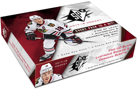 Group Break#722- 1 Case (10 Boxes) 2017-18 SPX Hockey TEAM RANDOM + FREE BONUS SPX BOX GIVEAWAY